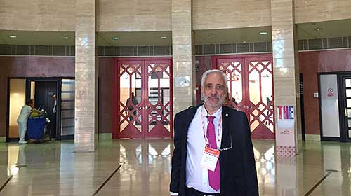 El Rector Ernesto Villanueva Participa De La European Association For International Education 2017 En Sevilla, España