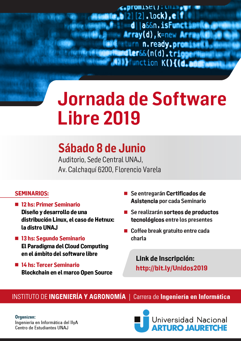 Jornada Software libre