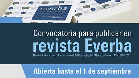 Convocatoria Para Publicar En Revista Everba