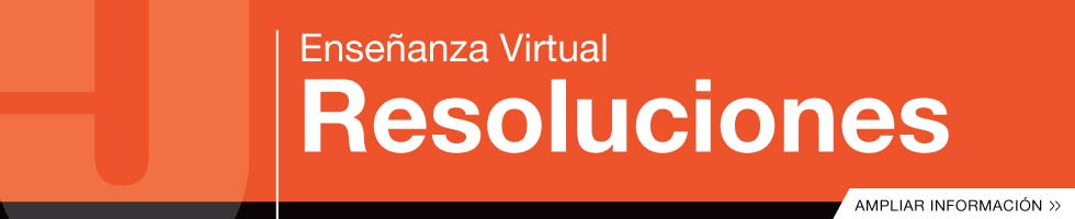 Enseñanza Virtual - Resoluciones