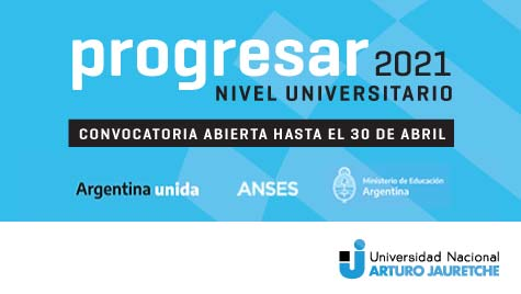Convocatoria Progresar 2021 - Nivel Universitario - Convocatoria abierta hasta el 30 de abril